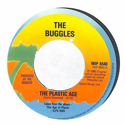 "The Buggles - The Plastic Age - 7"" Vinyl Record Single"