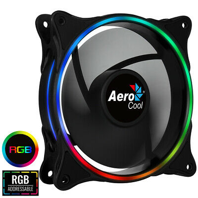 Aerocool Eclipse 120mm ARGB Fan 6 Pin Connector with 6 Pin Adapter Cable
