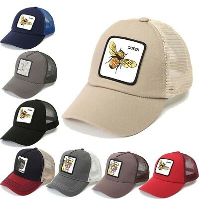 79b97afbed8 Animal Farm Trucker Hat Snapback Baseball Cap Embroidery Tiger Goat Bee  Panther