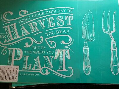 Chalk Couture Transfer, Homegrown Collection: Harvest!