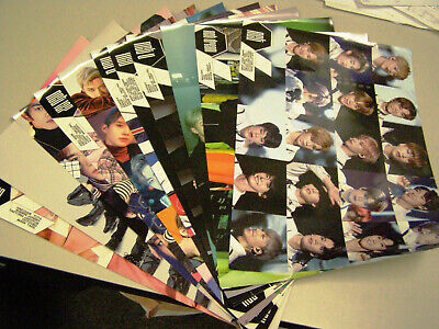 NCT Mini Posters    LOT OF 11