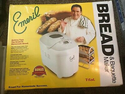 Emeril by T-fal 3-Pound Automatic Bread Machine - Baguette and Bread Maker