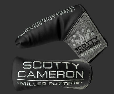 SCOTTY CAMERON PUTTER HEADCOVER - 7 Point Crown - GRAY - 2019 BRITISH OPEN