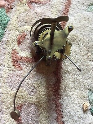 Antique Welch Gingerbread  Clock Alarm Movement Working