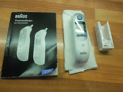 Braun Thermoscan 7 Irt6520 Baby Adult Digital Ear Thermometer