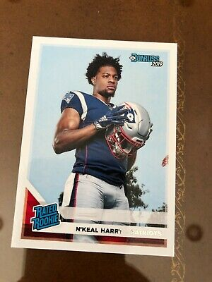 1 2019 Panini donruss RATED ROOKIE Card # 319 N'Keal Harry