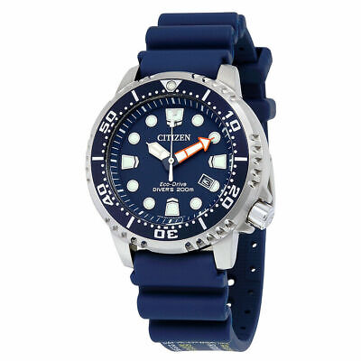 Citizen Eco-Drive Mens BN0151-09L Promaster ISO Dive Blue Dial & Strap Watch