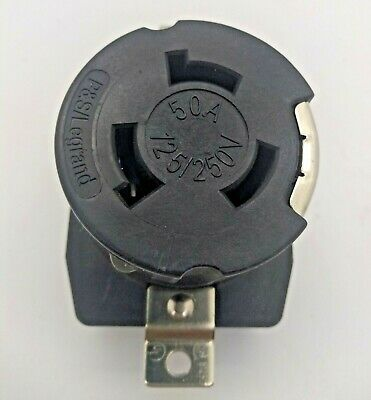 Pass Seymour CR6369 50A 125/250V Receptacle Locking 3 Way 4 Wire FREE SHIP