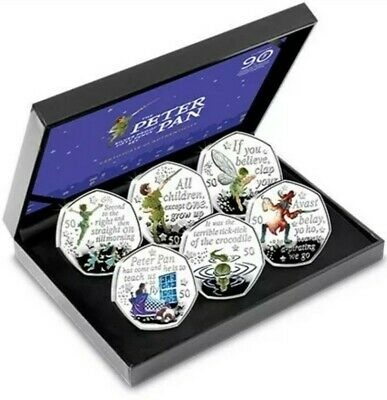 **SOLD OUT** 2019 Peter Pan 6 Coin Deluxe 50p Set Ex Low Edition of Just 1,995!