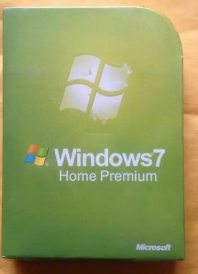 Microsoft Windows 7 Home Premium 32/64 bit Full Version SP1 Recovery Product Key