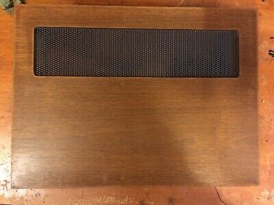 Kenwood Kr-5200 Wood Cabinet-Excellent Scratch Free Condition