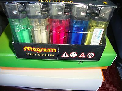 50/100 x DISPOSABLE LIGHTERS ADJUSTABLE FLAME WITH CHILD SAFETY MULTI COLOURS