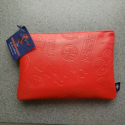 United Airlines Promotional SPIDER MAN Business Class Amenity Travel Kit Red