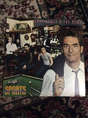 Huey Lewis And The News Sports Lp