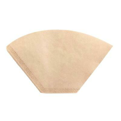 100pcs Hand Drip Coffee Filters Paper Tea Bag Strainer Kitchen Cafe Tools #gib