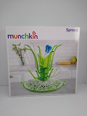 Munchkin Sprout Drying Rack ~ Baby Bottle & Nipple Drying Rack ~ New in Box