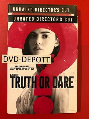 TRUTH OR DARE DVD & Slipcover Brand New FAST Free Shipping N0 tax