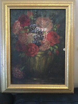 VERY OLD BEAUTIFUL PAINTING ANTIQUE/ vintage