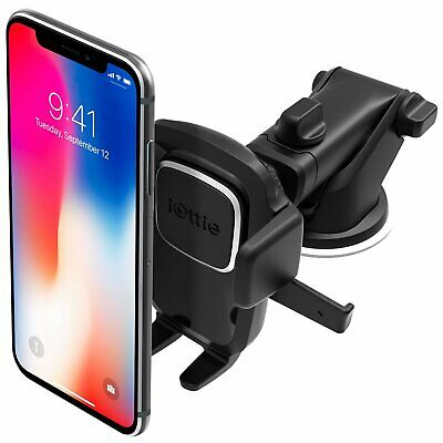 iOttie Easy One Dash Windshield Smartphone Car Mount Cell Phone GPS Holder Stand