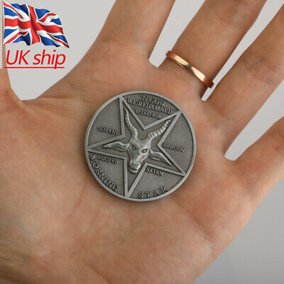 Lucifer Morning Star Pentecostal Coin Specie Costume Accessories Cosplay Props
