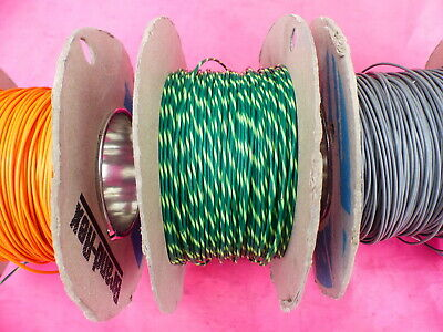 19AWG Silver Plated Copper Teflon PTFE Wire 1mm 16 Feet Stranded Cable