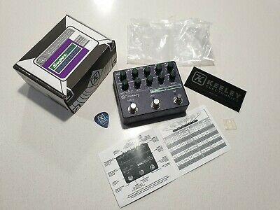 Keeley Super Mod Workstation Guitar Effect Pedal - SuperMod Modulation Pedal