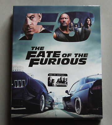 The Fate Of The Furious - Filmarena Fac #91 E1 Blu-Ray Steelbook * New Fast And