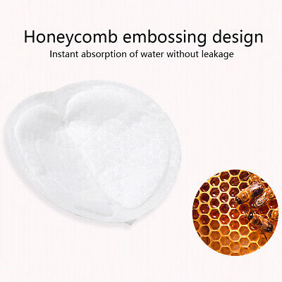 100Pcs Disposable Absorbent Breast Pad Anti-overflow Non-woven Fabric Ultra-thin