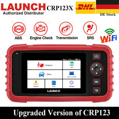 Launch X431 CRP123X CRP123 OBD2 Diagnose Gerät Code Reader Scanner ABS SRS MOTOR