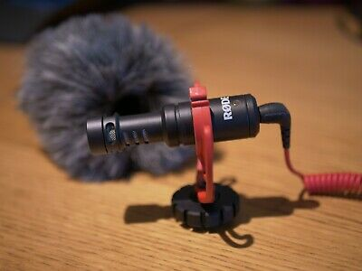 Rode VideoMicro - Compact On-Camera Microphone with Rycote Lyre Shock Mount