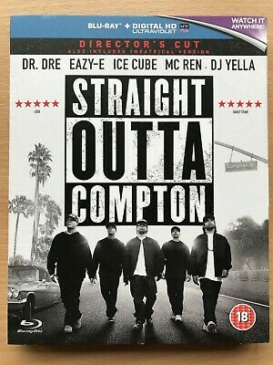 Straight Outta Compton Blu-Ray New & Sealed NWA Ice Cube Dr Dre