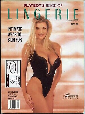 US Playboy's Book Of Lingerie #34 Nov / Dec Magazine 1993 Cheryl Bachman