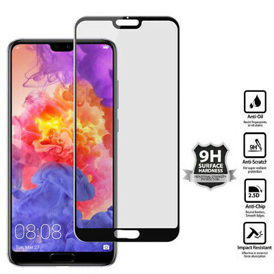 For Huawei P20 - P30 Pro Lite Premium Protection Tempered Glass Screen Protector