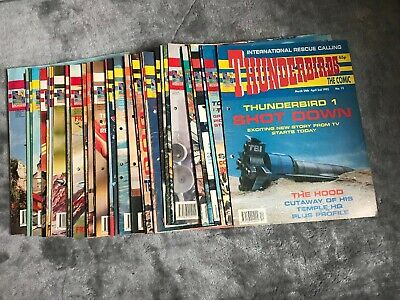 THUNDERBIRDS  magazines 36 Issues In Total See Pictures