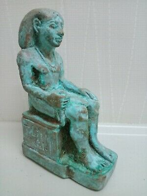 Amenhotep the Second. A rare piece of Pharaonic bronze