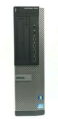 Dell Optiplex 7010 Desktop Intel i5-3470 3.20GHz 8GB RAM 500GB HDD Win 10 Pro