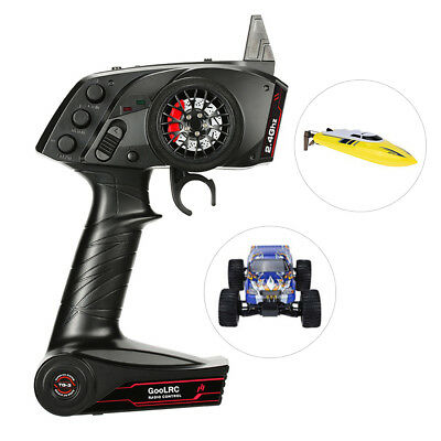 GoolRC TG3 2.4GHz 3CH Control Transmitter with Receiver for RC Car Boat Surprise