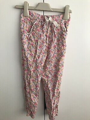 Next Girls 4-5 Years Summer Trousers/hareem Style BNWOT