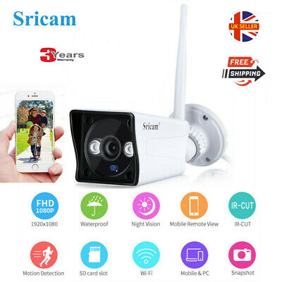 Wireless WIFI IP Camera 1080P HD CCTV Home Security Cam IR Night In or Outdoor A