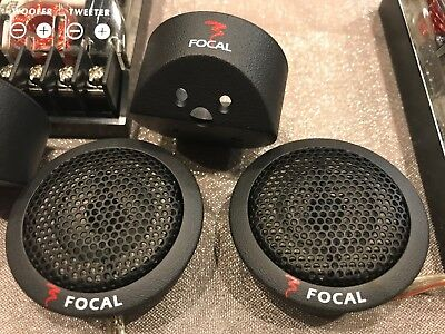 TWEETER E CROSSOVER FOCAL SERIE K2 POWER made in FRANCE nuovo, new, AFFARE