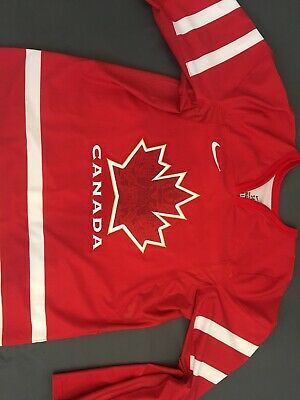 authentic team canada hockey jersey 2010 vancouver olympics nike iihf