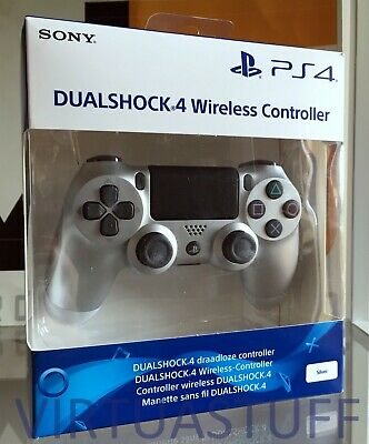 Dualshock 4, V2, Silver, Controller, Sony Playstation 4, Ps4, Nuovo, Brand New !