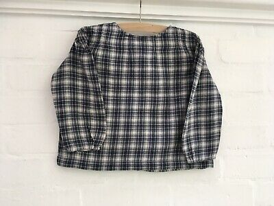 Caramel Baby & Child Plaid Long Sleeve Top Blouse Size 3 years