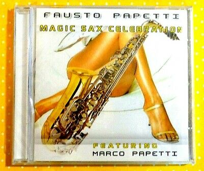 Fausto Papetti  -  Magic Sax Celebration  -  Cd 2009  Nuovo E Sigillato