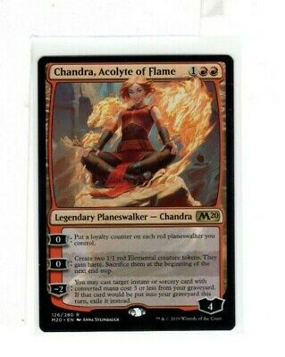 MTG SkeenAB Chandra, Acolyte of Flame from M20. NM.