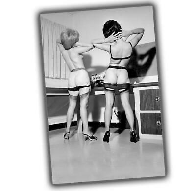 """Photo Vintage Pin-up Classic Retro Girls Sexy Glossy Size """"4 x 6"""" P"""