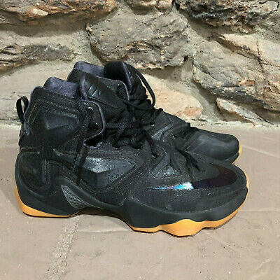 cheap for discount dbc86 e2dee NIKE LEBRON JAMES XIII(13)MEN'S 's 807219-001 BLACK LION ANTHRACITE GUM  SIZE 8.5