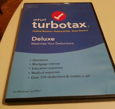 Intuit TurboTax Deluxe 2016 - Federal & State - Tax Preparation Software☆☆