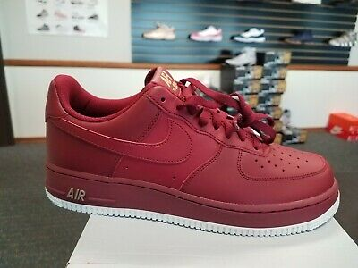 Brand New Men's Nike Air Force 1 Low '07 AA4083-603 Team Red White Size 9.5