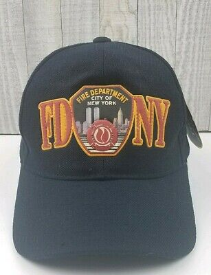 2fe95aeef NEW ERA RED Fire Department City Of New York FDNY Logo 9Fifty ...
